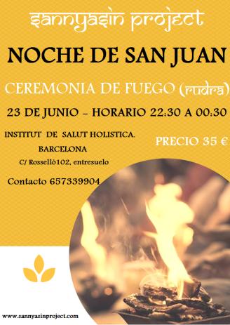 ceremonia fuego nueva